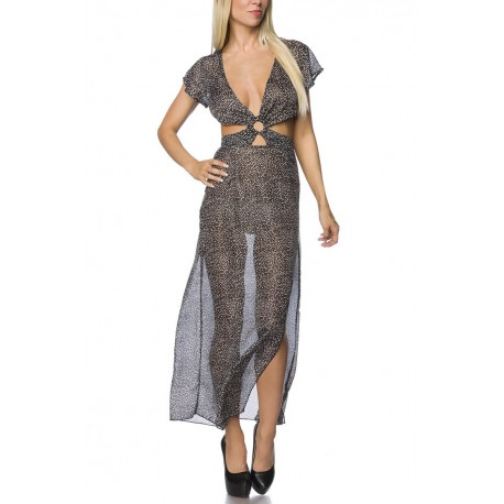 transparent feminines Maxikleid - AT14740