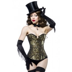 Burlesque-Brokat-Corsage - AT13989 Produktbild